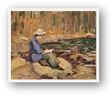 Arthur_Lismer_My_Wife_Sackville_River_S